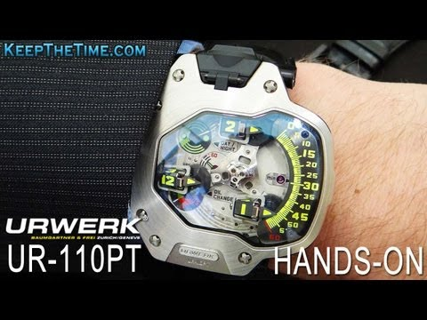 Urwerk UR-110 Hands-On Demonstration Jackie Chan Watch