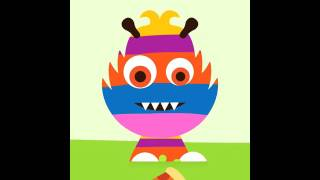 Sago Mini Monsters - app demo for kids