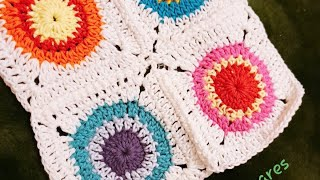 CROCHET CIRCLE IN SQUARE SHAPE-A