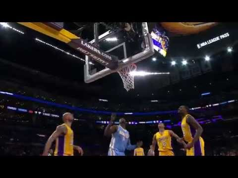 Ty Lawson Scores 32, Dishes 16 to Lead Nuggets Past Lakers