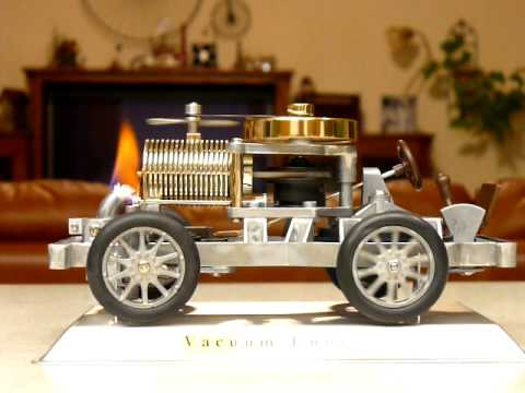 Flame-Licker  Engine Model Automobile