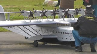 Giant RC flying boat Dornier Do X D-1929 | 12x OS Motors