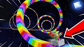 WORLD'S LONGEST RAINBOW ROLLERCOASTER!