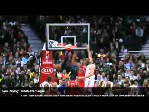 Joakim Noah Highlights Mar 2 2013