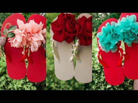 Very Nice Flower Chappal design 2018 || Pakistani Fashion 2018