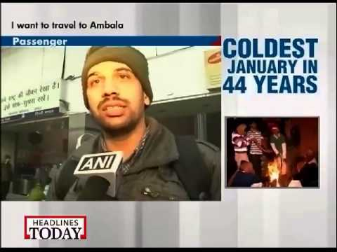 Extreme cold grips north India, Delhi witnesses coldest January-2