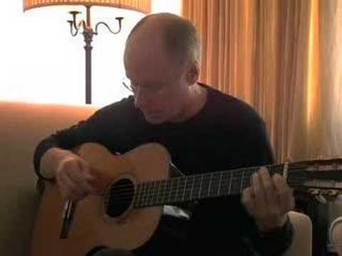 Dean Parks does interview for A. Davis Guitars