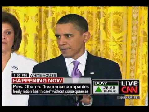 Obama Speech on Health Care Surrounded By Doctors