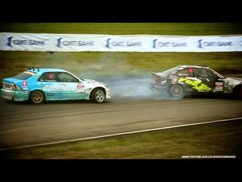 Ружейников-Богданов \ TOP32 \ 4stage \ Moscow \ Russian Drift Series RDS 2012