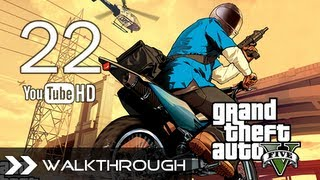Grand Theft Auto V GTA 5 Walkthrough - Gameplay Part 22 (Mission 16 - Nervous Ron) HD 1080p PS3 Xbox360 No Commentary