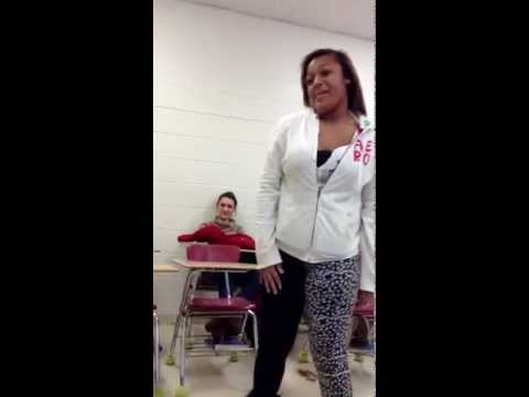 Rapping In The Health Room Student V. Teacher video