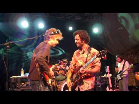 Dweezil Zappa and Eric Johnson in Austin, Nov. 19, 2009