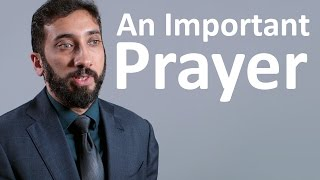 Video: Prophet Solomon's Prayer - Nouman Ali Khan