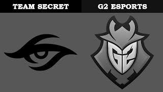 Secret vs G2 @Villa | Rainbow6 VODs | Pro League Season 9 - Europe (11.01.2019)