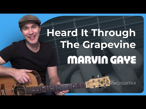 How to play Heard It Through The Grapevine by Marvin Gaye (Guitar Lesson SB-412)