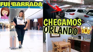 CHEGAMOS EM ORLANDO, ALUGAMOS UM CARRO E TOUR PELO QUARTO DO HOTEL ♥ - Bruna Paula
