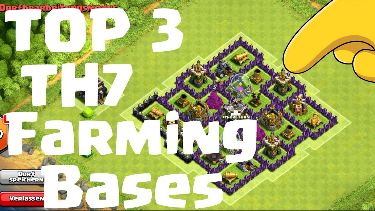 Best coc th7 base search results web design