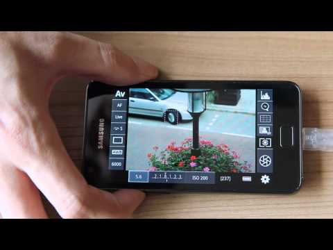 DSLR Controller - Android + Canon EOS - LiveView