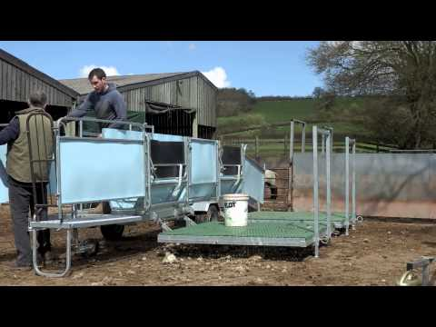 RT Anthony - Gull Wing Sheep Shearing Trailer Movie