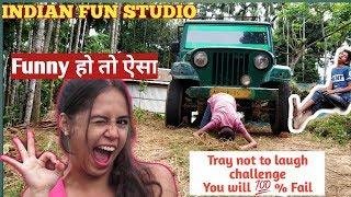 Best Funny videos in 2019, funny हो तो ऐसा.#Indian fun studio |