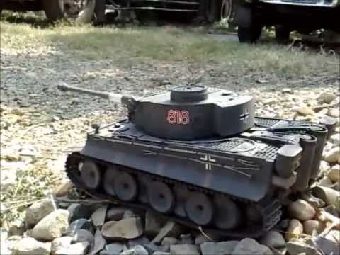 RC GERMAN TIGER TANK.wmv