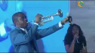 NATHANIEL BASSEY POWERFUL WORSHIP @ INTERNATIONAL CONFERENCE