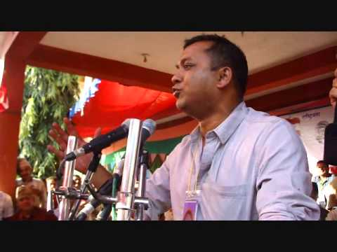 gagan thapa speech in saktikhor vdc
