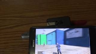 GTA V On Sony Xperia Z3 Compact PS4 Remote Play With Controller
