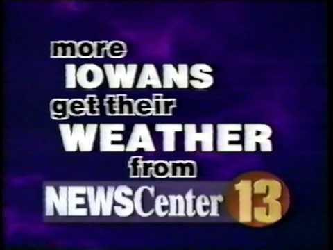 1996 Four Meteorologists Promo WHO-TV