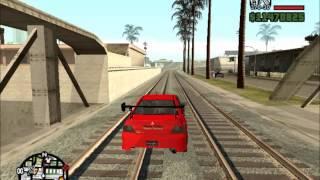 GTA San Andreas Tokyo Drift Seans Evo mod
