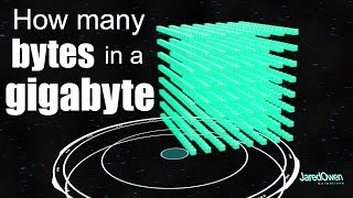 How many Bytes are in a Gigabyte?
