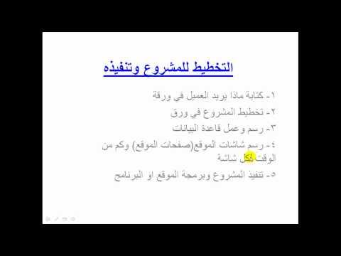 System analysis كيفية عمل موقع وتحليل موقع الكتروني