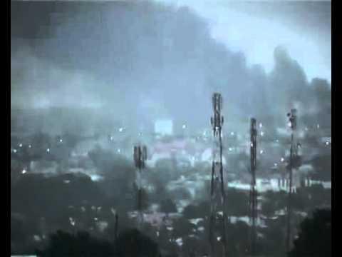 cote d'ivoire - Bombardement a Abidjan d'un camp militaire