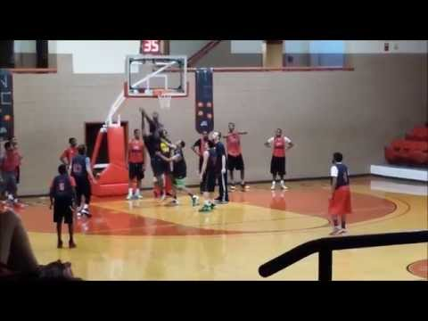 Mat's Navarro College tryout
