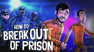 HOW TO BREAK OUT OF PRISON (GTA 5 ANIMATED)