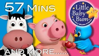 Little Baby Bum | Pig Eats an Apple | Nursery Rhymes for Babies | Songs for Kids