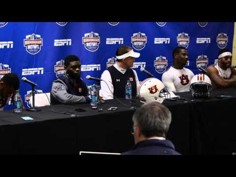 Birmingham Bowl Post Game Press Conference