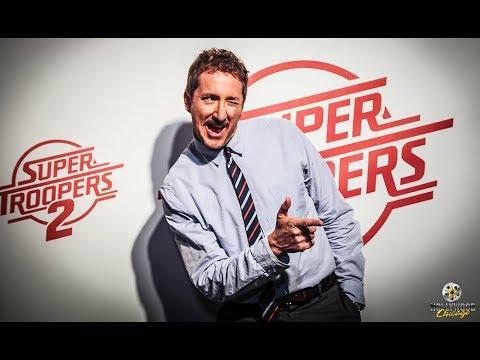 Red-Carpet Interviews: Cast Of Super Troopers 2, Broken Lizard Comedy Troupe