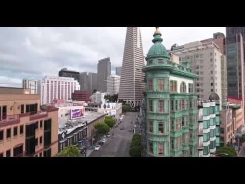 SAN FRANCISCO NORTH BEACH droned in 4k