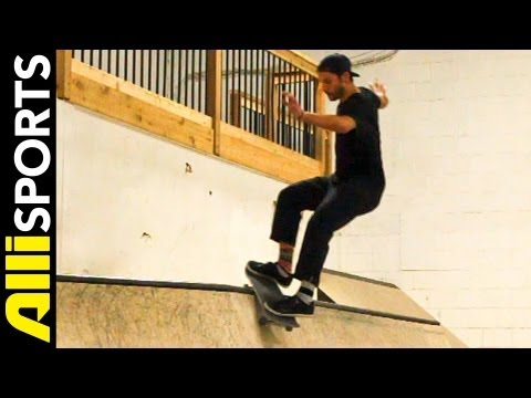 How To Frontside Smith Grind with Steve Nesser, Step by Step Alli Sports