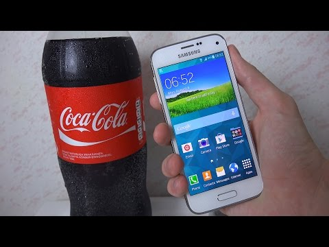 Samsung Galaxy S5 Mini - Coca-Cola Test