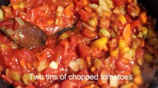 how to make a tomato sauce with hidden vegetable in.