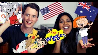 American Reacts To Australian Kids Tv Shows ft. Adam Smith