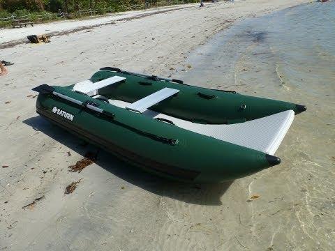 NANO Catamaran NC290. Small portable fishing boat