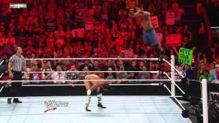 Raw - John Cena vs. CM Punk - No. 1 Contender's Match