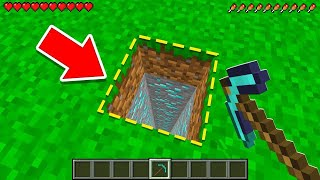 Minecraft, BUT You Can ONLY DIG STRAIGHT DOWN! (impossible)