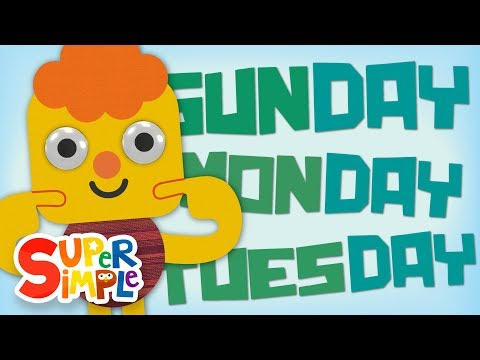 Days Of The Week Song | Kids Songs | Super Simple Songs