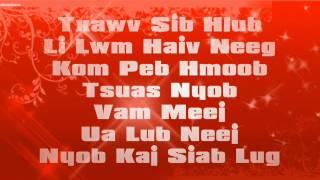 Tsab Mim Xyooj - Foom Hmoov Sib Ntsib w/ Lyric