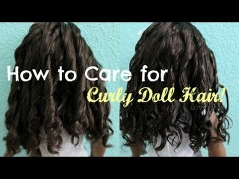 How to Care for Curly Doll Hair! [#44 & Cécile]