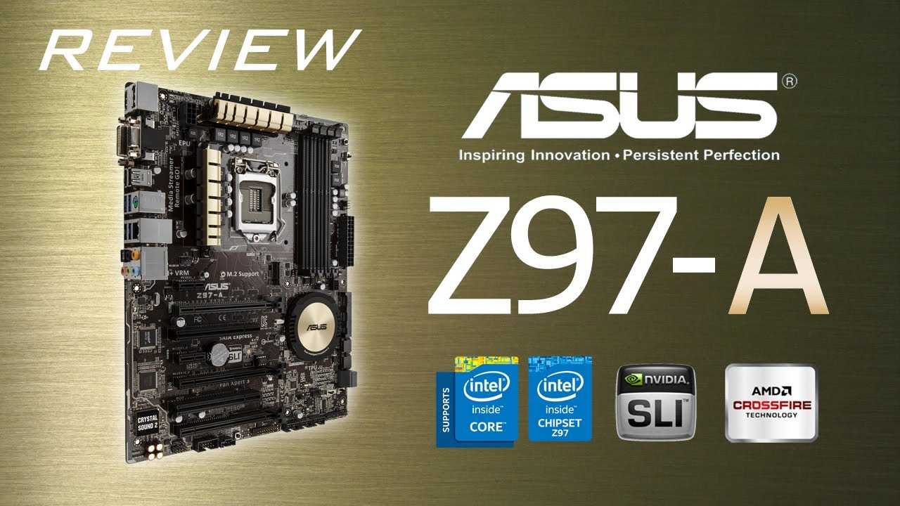 Review: ASUS Z97-A (Español) - YouTube